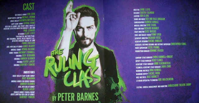The Ruling Class_Cast&Crew
