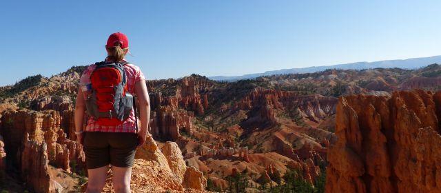 Blick auf Bryce Canyon