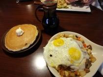 ... zweites Frühstück für mich (war kaum zu bewältigen!)