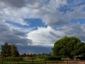 GC2: Der Blick vom Parkplatz in den Himmel