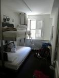 NY1: POD 51: das kleinste Zimmer auf unserer Reise!