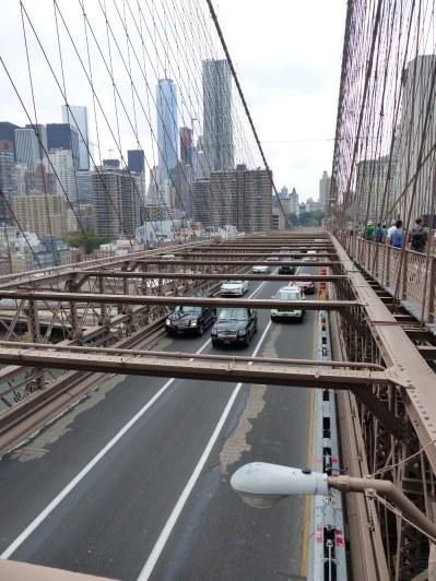 Der Blick Richtung Manhattan