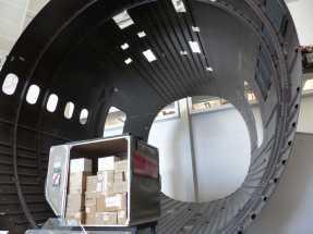 Das Innere eines 787 Dreamliners