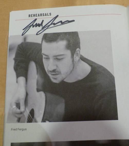 Fred Fergus Autogramm