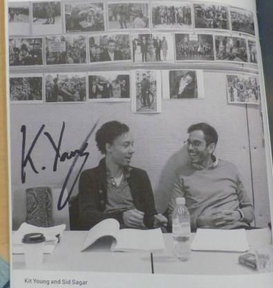 Kit Young Autogramm
