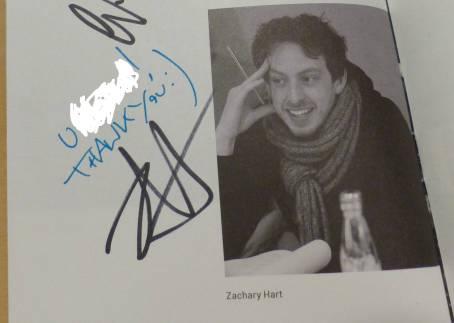 Zach Autogramm